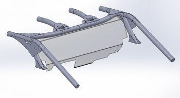 CAN-AM MAVERICK X3 ACHTER VOORRUIT