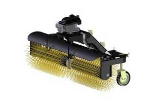 Staat schoonmaak  Angle Broom voor ATV - UTV