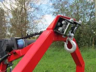 elektrische lier kit voor ATV houtblokken trekker