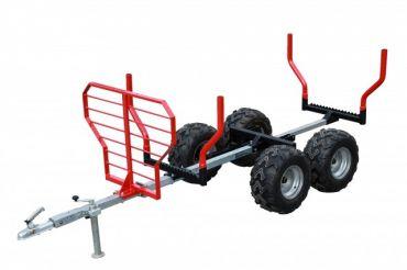 ATV hout aanhangwagen