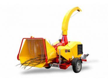 XYLOCHIP 150 M - 35 HP Lombardini Diesel motor gemonteerde houtversnipperaar / versnipperaar