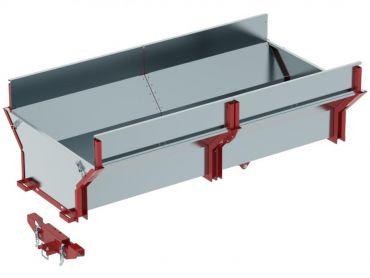 Cargo box voor ATV hout aanhangwagen
