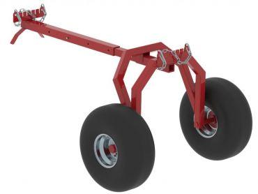 ATV houtsleper ACHTERZIJDE steun onderdeel