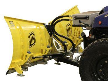 Sneeuwploeg voor quad - 180 cm V-vormig mes - hydraulisch draaiende versie