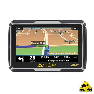 "GPS Globe Street - waterdicht IP67 - 4,3 ""scherm - Europe Map"