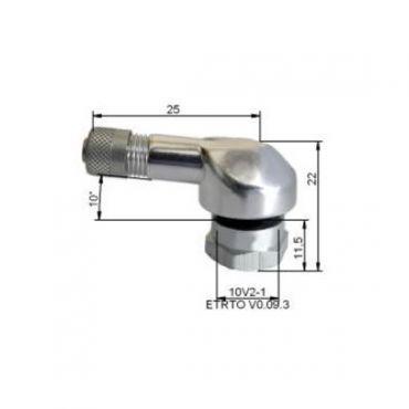 Alu band kleppen  Ø11,5mm Silver