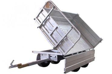 Kipwagen - capaciteit van 1500 kg met een 3-kantelmogelijkheid