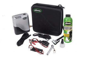SLIME Moto Reparatie Kit met/ Compressor & Band Afdichting