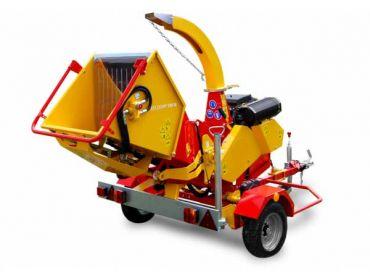 XYLOCHIP 175 M - 51 HP Lombardini Diesel motor gemonteerde houtversnipperaar / versnipperaar