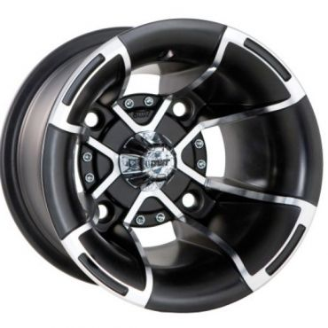 Douglas wheels-Fusion-Silver polished 10x9 4x110 ET3B+6N