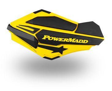 POWERMADD handbescherming GEEL/ZW SUZUKI