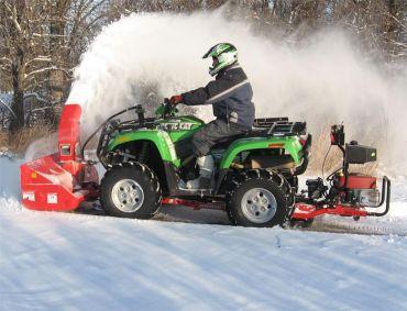 Sneeuwblazer voor quad met 19HP Briggs & Stratton-motor