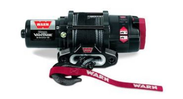 WARN PRO VANTAGE 2500-S CE SYNTHETIC ROPE + REMOTE CONTROLLER